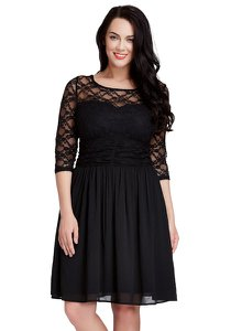 lookbookstore-plus-size-black-lace-crop-sleeves-skater-dress-ZgMuL6DJDtm6Z7TpzsakBYb1BEw8LCW5UEeUg-300