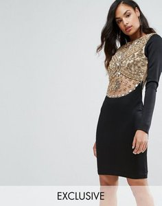 a-star-is-born-a-star-is-born-heavy-embellished-knee-length-dress-with-long-sleeves-UDS8D7gjH2LVpVUZwBUFw-300