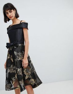 amy-lynn-amy-lynn-bardot-skater-dress-with-jacquard-skirt-HhMArkNtv2SwmcpaBqmfi-300