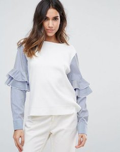 amy-lynn-amy-lynn-contrast-frill-sleeve-top-JrcJ7u9iS27aoDnWdsFde-300