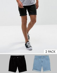 asos-asos-2-pack-slim-denim-shorts-with-abrasions-in-light-wash-blue-and-black-LDMQYTnkM2SwGcqagqdLR-300