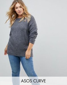 asos-curve-asos-curve-jumper-in-fluffy-yarn-with-crew-neck-HsX5LpVGt2E3JM9GFXhbH-300