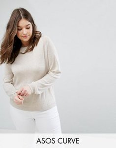 asos-curve-asos-curve-jumper-with-crew-neck-and-panel-detail-3wcY1F3wd27aJDnJssaZ1-300