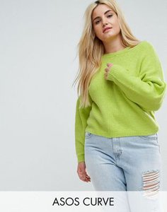 asos-curve-asos-curve-jumper-with-volume-sleeve-and-cut-out-neck-8NatbkRMX2V4ybtaYkth5-300