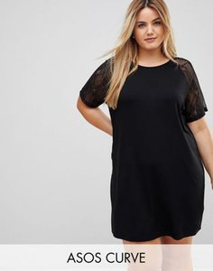 asos-curve-asos-curve-t-shirt-dress-with-lace-raglan-sleeve-h5QT4b7vT2hyysc6K4neR-300