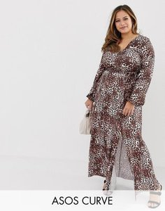 asos-curve-asos-design-curve-belted-maxi-dress-with-pleated-skirt-in-leopard-print-6QU3DKdqm2y1m7MfQHEaP-300