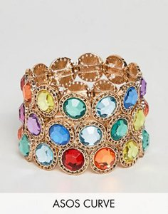 asos-curve-asos-design-curve-exclusive-pack-of-3-bracelets-with-multicolour-jewels-in-gold-TbUGPdZGK2y1i7PsKHZkz-300