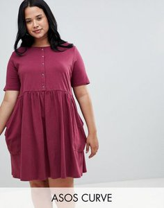 asos-curve-asos-design-curve-mini-smock-dress-with-pockets-and-button-front-RJcHxMCgn27a3DpA7sNPf-300