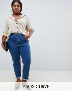 asos-curve-asos-design-curve-recycled-farleigh-high-waist-slim-mom-jeans-in-flat-blue-eRMQ8xmxQ2Swvcq61qjrT-300