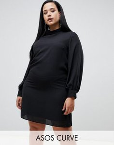 asos-curve-asos-design-curve-sheer-shift-mini-dress-with-high-neck-WAMv2X1zr2SwncpfDq2k1-300