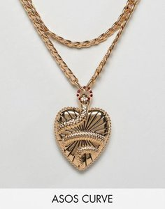 asos-curve-asos-design-curve-statement-multirow-necklace-with-vintage-style-snake-locket-in-gold-KbVvcFetK2bXsjFpBQqNZ-300