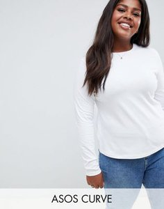 asos-curve-asos-design-curve-ultimate-top-with-long-sleeve-and-crew-neck-in-white-Wpc2mGKPV27aADpgXszCP-300