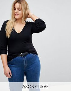 asos-curve-asos-design-curve-ultimate-top-with-long-sleeve-and-v-neck-in-black-iSYESEsXf2rZAy3jYdD5o-300