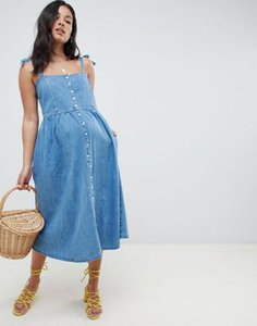 asos-maternity-asos-design-maternity-denim-button-through-midi-dress-in-midwash-blue-tqVvKWenK2bXJjFaKQn7M-300
