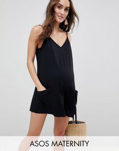 asos-maternity-asos-design-maternity-minimal-jersey-playsuit-with-pockets-5wVvKWenJ2bXfjFu7Qn7U-300