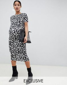 asos-maternity-nursing-asos-design-maternity-nursing-double-layer-bodycon-dress-in-mono-animal-print-cgPaxP6zr25TFEhmYxF7N-300