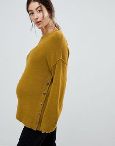 asos-maternity-nursing-asos-design-maternity-nursing-fluffy-jumper-with-popper-sides-ypMfYg8aa2SwmcpdxqbJQ-300
