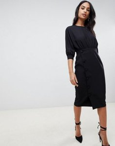 asos-design-asos-design-midi-pencil-dress-with-button-skirt-yYVSD5tKj2bXmjFdJQ4z3-300