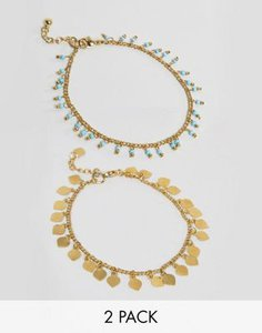 asos-asos-design-pack-of-2-petal-disc-and-bead-anklets-9Wc3zuniK27aUDoudsTSS-300