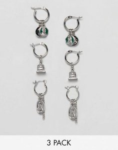 asos-design-asos-design-pack-of-3-hoop-earrings-with-vintage-style-coin-and-mini-chapel-charm-in-silver-3aMAwrtB72SwZcqGuqMf6-300
