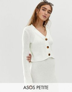 asos-petite-asos-design-petite-co-ord-v-neck-crop-chunky-cardigan-in-eco-yarn-yXcnsvRhD27aKDoSgsfGz-300