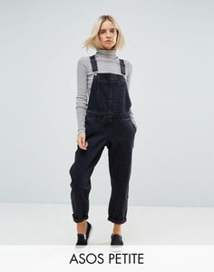 asos-petite-asos-design-petite-denim-dungaree-in-washed-black-sfVg3KFCs2bXqjESVQov2-300