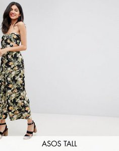 asos-tall-asos-design-tall-bandeau-jumpsuit-with-cut-out-and-drape-detail-in-print-JcS8WrfqN2LV5VUMPBXWy-300