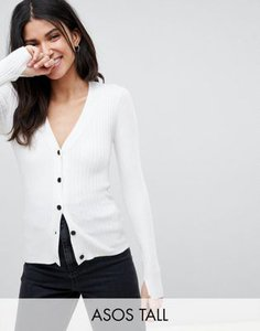 asos-tall-asos-design-tall-cardigan-in-fine-knit-rib-with-buttons-k6MRMbFHG2SwMcp4cqD7c-300