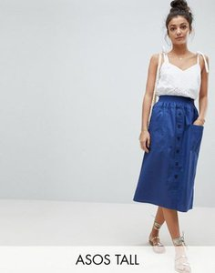 asos-tall-asos-design-tall-cotton-midi-skirt-with-button-front-esU3dpd9h2y1B7M24H849-300