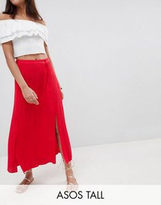 asos-tall-asos-design-tall-crinkle-midi-skirt-with-buttons-and-double-split-wFSsajqJL2LVMVVNPB9Z2-300
