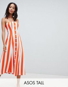 asos-tall-asos-design-tall-deckchair-stripe-button-through-bandeau-midi-sundress-yaPKFvjGi25TXEioVxLQY-300