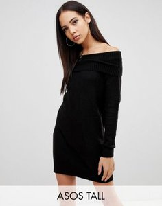 asos-tall-asos-design-tall-off-shoulder-dress-in-fluffy-yarn-uDMfqR8ga2SwCcpTGqeZx-300