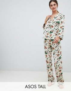 asos-tall-asos-design-tall-safari-print-traditional-pyjama-set-H3XLM3r662E37M87CXfYJ-300