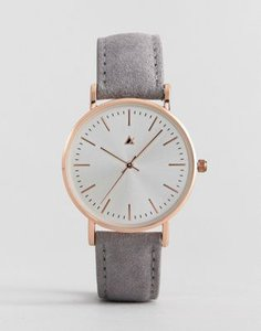 asos-design-asos-design-watch-in-suede-with-gold-case-in-grey-zzMRsyii62SwycoySqjcj-300