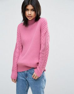 asos-asos-high-neck-jumper-with-cable-sleeves-Hij58JhJDSFS83Jncv7-300