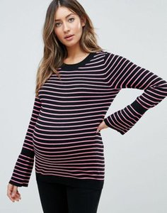 asos-maternity-asos-maternity-jumper-with-stripe-and-fluted-sleeve-PXYEfsLrU2rZVy2cjdgLQ-300