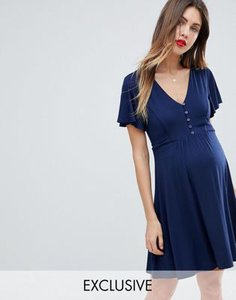 asos-maternity-nursing-asos-maternity-nursing-button-through-tea-dress-RmMvxQVhf2SwdcohsqSjQ-300