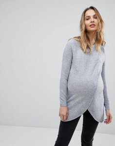 asos-maternity-nursing-asos-maternity-nursing-wrap-over-jumper-in-textured-stripe-VscJ7u9jQ27ajDnrEsFdg-300