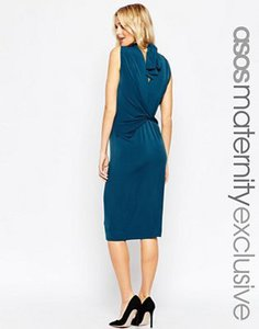 asos-maternity-asos-maternity-ruched-bodycon-dress-with-high-neck-and-wrap-back-h5NFdoUJ7TxS83gnZE5-300