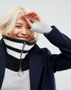 asos-design-asos-mono-stripe-snood-with-ring-zip-H2X5pR2qy2E3WMAC3XB6z-300