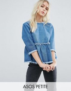 asos-petite-asos-petite-denim-smock-top-with-wrap-back-in-vintage-wash-Jx8vx9EJERXSd3znER3-300