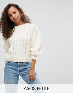 asos-petite-asos-petite-jumper-in-cable-with-volume-sleeve-yUatbkRNV2V4WbtySkthL-300