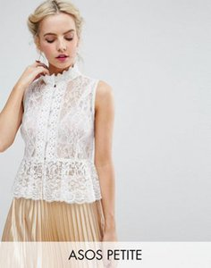 asos-petite-asos-petite-top-in-lace-with-button-font-and-peplum-hem-yGSsWdK1B2LVCVUNsBZZX-300