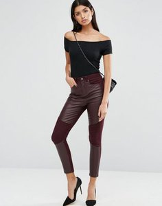 asos-asos-skinny-trousers-with-coated-front-panels-DhunjH2JtSfSs3tnSnM-300