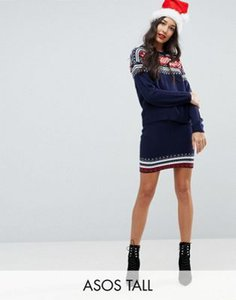 asos-tall-asos-tall-christmas-co-ord-skirt-in-fairisle-W3atbkRrU2V49bti4kthn-300