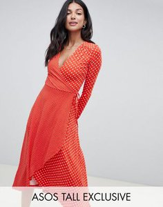 asos-tall-asos-tall-midi-wrap-tea-dress-with-long-sleeves-in-polka-dot-jWUG6tZfH2y1M7PgsHWVM-300