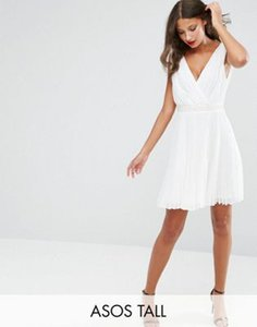 asos-tall-asos-tall-pleated-mini-skater-dress-with-embellished-waist-tQXFbzeJSRZSP3nnFo2-300