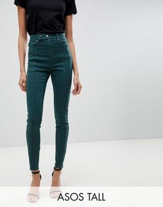 asos-tall-asos-tall-ridley-high-waist-skinny-jean-with-front-seam-detail-and-extended-button-tab-in-dark-forest-green-r1as9UUDp2V4mbvXykxCb-300
