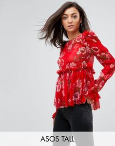 asos-tall-asos-tall-ruffle-smock-blouse-in-red-floral-aeX6ZTybi2E33M8YeXAqZ-300