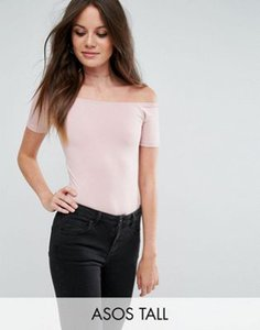 asos-tall-asos-tall-short-sleeve-off-shoulder-body-in-longer-length-f2coW5vo127awDn3Ms1zs-300